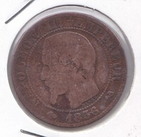 5 Centimes Napoleon III 1856 B - C. 5 Centesimi