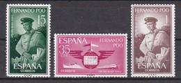 FERNANDO POO 1962 - Serie Completa Nueva Sin Fijasellos Edifil Nº 210/212 - MNH - - Fernando Po