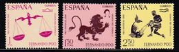 FERNANDO POO 1968 - Serie Completa Nueva Sin Fijasellos Edifil Nº 265/267 - MNH - - Fernando Po