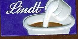 MAGNET TABLETTE CHOCOLAT LINDT - Magnets