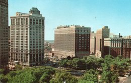 GRAND CIRCUS PARK-DOWNTOWN DETROIT,MICHIGAN-1963 - Detroit
