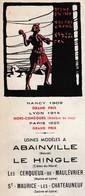 """Tarif Catalogue 8 Pages / 1936 / """"Le Granit""""/ Usines Abainville 55 / Le Hingle 22 / Les Cerqueux 49 / St Maurice 71 - Francia"""