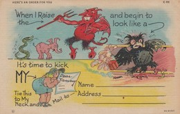 DEVIL ; Here Is An Order For You , 30-40s - Fairy Tales, Popular Stories & Legends