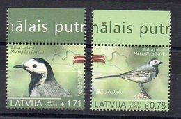 LETTONIE - LATVIA - 2019 - EUROPA - OISEAUX - BIRDS - - Lettonie