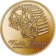 84 VAUCLUSE FONTAINE DE VAUCLUSE VALLIS CLAUSA MINI MÉDAILLE MONNAIE DE PARIS 2019 JETON TOURISTIQUE TOKENS MEDALS COINS - 2019