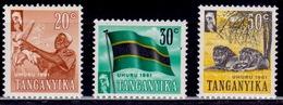 Tanganyika, 1961, Independence, MNH - Kenya (1963-...)
