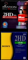 10 Disquettes Neuves IMATION + 10 Disquettes IBM Sony - Disquettes 5.25