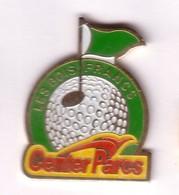 C156 Pin's GOLF Domaine Center Parcs Les Bois-Francs Verneuil D'Avre Et D'Iton Eure Achat Immédiat - Golf