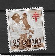 1951 MNH Spain, Airmail Mi 57 Postfris** - Ungebraucht