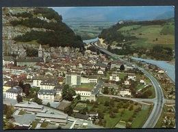 SUISSE - SAINT MAURICE , VS , Vue Aérienne .ed. Wyrsch , Agno - VS Valais