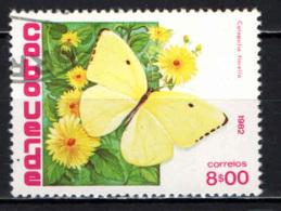 CAPO VERDE - 1982 - Catopsilia Florel - USATO - Isola Di Capo Verde