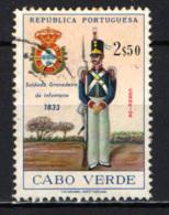 CAPO VERDE - 1965 - UNIFORME MILITARE - USATO - Isola Di Capo Verde