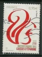 2018 Yt 5207 Bicentenaire Des Caisses D'Épargne 1818-2018 - France