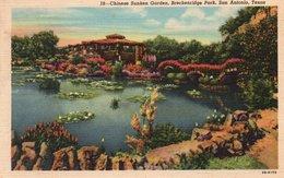 CHINESE SUNKEN GARDEN-BRECKENRIDGE PARK-SAN ANTONIO-TEXAS - San Antonio