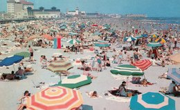 GENERAL VIEW BATHING BEACH-OCEAN CITY,NEW JERSEY - Atlantic City