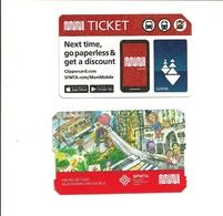 2 Tickets MUNI. San Francisco (USA). Voir Description. - Autres