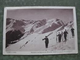 POLAND - TATRY W Zimie 1929 - Narciarze Na Kasprowym Wierchu - Pologne
