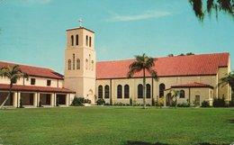 FIRST METHODIST CHURCH-THE CHURCH THE RADIANT CROSS-SEBRING-FLORIDA-1966 - Stati Uniti