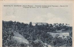 MONTALTO MARCHE - CONVENTO FONDATO DA S.FRANCESCO - Ascoli Piceno