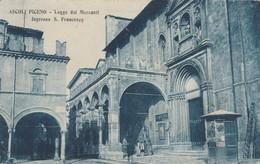 ASCOLI PICENO - LOGGE DEI MERCANTI - INGRESSO S.FRANCESCO - Ascoli Piceno
