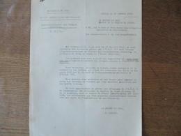 LILLE LE 30 OCTOBRE 1941 LE PREFET DU NORD F. CARLES APPROVISIONNEMENT DES TROUPES ALLEMANDES BUREAU DEPARTEMENTAL DES C - Documents Historiques