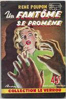 Un Fantôme Se Promène Par René Poupon - Le Verrou N°104 - Ferenczi