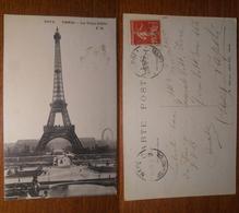 Paris Parigi Tour Eiffel 1919 Anni '10 Francia France 5072 Malouit Ed. - Notre Dame De Paris