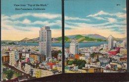 TOP OF THE MARK-SAN FRANCISCO-CALIFORNIA-1956 - San Francisco