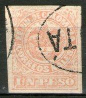 """COLOMBIE: N°58a Oblitéré """"papier Vergé""""       - Cote 40€ - - Colombie"""