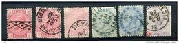 Belgique  :  Yv  38-41  (o) - 1883 Leopold II