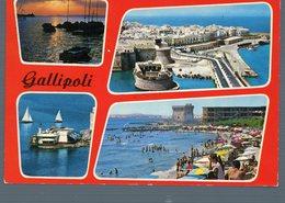 °°° Cartolina - Gallipoli Vedute Viaggiata °°° - Lecce