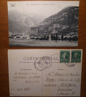 Modane Ville Le Replaton Et La Sapey - 1566  Viaggiata 1907 Anni '900 Reynaud  Francia France - Modane
