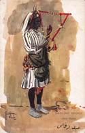 CPA PEOPLE OF EGYPT - DANCING NEGRO - Abde Rakes - Lance Thackeray - Otros Ilustradores