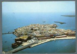 °°° Cartolina - Gallipoli Dall'aereo Panorama E Porto Viaggiata °°° - Lecce