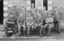 CARTE PHOTO ALLEMANDE  MEIX Devant VIRTON 1917 - Meix-devant-Virton