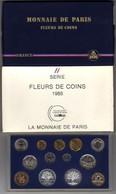 SÉRIE DE 13 PIÈCES FLEURS DE COINS 1988 MONNAIE DE PARIS - France