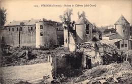 Péronne Ruines Du Chateau ( Coté Ouest ) - Peronne