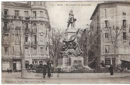 ! - France - Nice - Monument à Gambetta - 2 Scans - Monuments, édifices