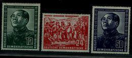 GERMANY 1951 GDR MAO TSE TUNG MI No 286-8 MNH VF!! - Mao Tse-Tung
