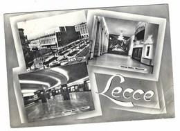 3883 - LECCE 3 VEDUTE 1961 ANGOLO PIEGATO - Lecce