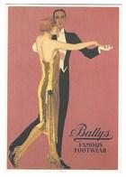 3894 - BALLY'S FAMOUS FOOTWEAR MOSTRA 1995 LOGGIA RUCELLAI FIRENZE - Pubblicitari