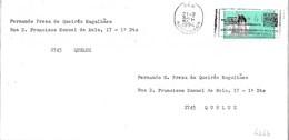 Portugal Cover With ATM Stamp And Jornadas Europeias Do Património Cancellation - 1910-... República