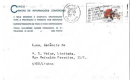 """Portugal Cover With """"Os Funcionários Identificam-se"""" Cancellation - 1910-... República"""
