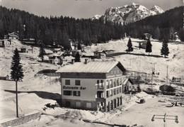 MADONNA DI CAMPIGLIO-TRENTO-RISTORANTE=TURISTICO=-CARTOLINA VERA FOTO VIAGGIATA IL 18-11-1957 - Trento