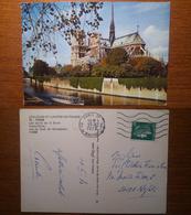Paris Parigi Colours Et Lumieres De La Saine Notre Dame - Viaggiata 1973 Anni '70 Francia France - Notre Dame De Paris