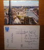 Paris Parigi Fieche De Notre Dame - Viaggiata 1966 Anni '60 Francia France - Notre Dame De Paris
