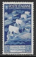 Italy Scott # 384 Mint Hinged Ships, 1937 - 1900-44 Vittorio Emanuele III