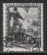 Italy Scott # 407 Used Black Shirts, 1938 - 1900-44 Vittorio Emanuele III