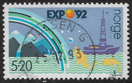 Norway SG1147 1992 Expo '92 5k.20 Good/fine Used [40/33073/6D] - Gebraucht