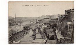 29 - BREST - Le Port De Guerre Vu Du Château - Bateaux (S123) - Brest